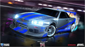 nissan r34 fast and furious fast u0026 furious rocket league official site