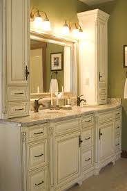 Countertop Cabinet Bathroom Best 25 Tall Bathroom Cabinets Ideas On Pinterest Narrow