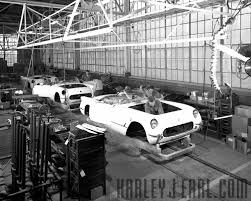 first corvette ever made corvette history u2014 harley earl