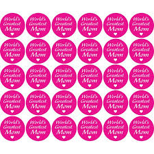 mothers day stickers s day labels stickers 1 5 circles labelvalue