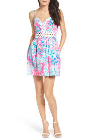Lilly Pulitzer Baby Clothes Lilly Pulitzer Rika Fit U0026 Flare Dress Nordstrom