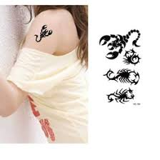scorpion tattoo temporary canada best selling scorpion tattoo