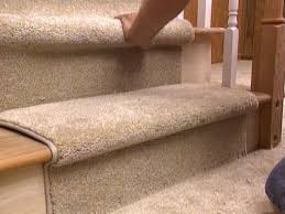 Putting Laminate Flooring On Stairs How To Install A Carpet Runner On Stairs Hgtv