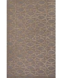 great deal on juniper home hudson handmade trellis gray tan area