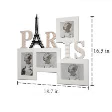 eiffel tower picture frames for sale personalized wood photo