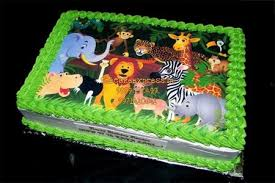 zoo themed birthday cake jungle theme birthday cake for kids online in noida kids cakes