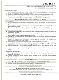 resume objectives for retail best resume gallery 6 cv for sales
