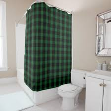 green and black shower curtains zazzle