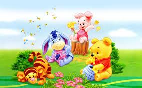 tigger piglet eeyore winnie pooh babies cartoon
