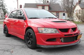 mitsubishi evo 8 red fs northeast stock clean rr evo 8 16 000 obo evolutionm