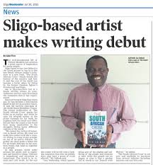 news paper writing the african author joe odiboh got a newspaper article in sligo click the image above to download the newspaper article