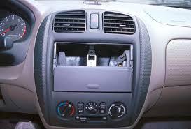 1999 2000 mazda protege car audio profile