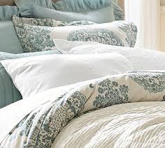 Pottery Barn Duvet Covers On Sale Lucianna Medallion Duvet Cover Full Queen Blue Duvet Bedrooms