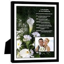 Wedding Gift Kl Amazon Com Wedding Gift For Daughter Heartfelt Poem From