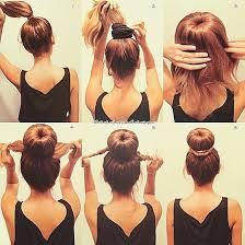 big bun hair my new favorite hair style how to make a big hair bun using a