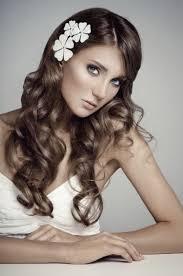 coiffure mariage cheveux lach s coiffure de mariage et bijoux de cheveux 55 idées tendance