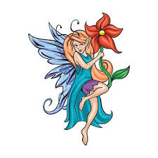 Fairy And Flower Tattoo Designs Fairy Tattoo Designs Page 3 Tattooimages Biz