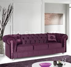 Velvet Sofa Bed Sale 1098 00 Chesterfield Velvet Sofa Prune Sofas Sofa Beds