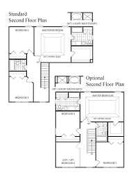 Cul De Sac Floor Plans Home Builders St Louis Mo Area Essex 2 Story 3 Bedroom House