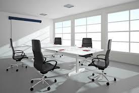 bureau lumineux bureau lumineux avec des fenêtres illustration stock illustration