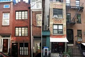 east village vs west u2014 which is really the narrowest house in nyc