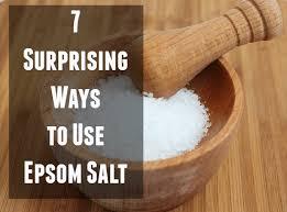 epsom salt vs table salt 7 surprising ways to use epsom salt brown coconut