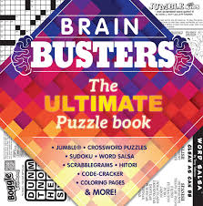 brain busters puzzle book by lee central coast newspapers issuu