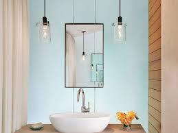 bathroom 31 led bathroom lighting with frameless mirror above