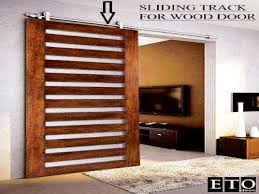 Sliding Bypass Barn Door Hardware by Exterior Sliding Barn Door Kit Bypass Door Track And Hardware