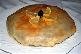 cuisine choumicha arabe pastilla au poulet et aux amandes http petitsplaisirs org
