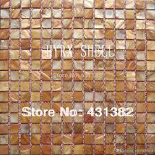2017 mother of pearl mosaic tiles gold color kitchen backsplash