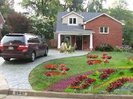 front yard driveway landscaping ideas u2014 jbeedesigns outdoor