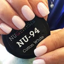 soft white pale pink hue nail color dip powder natural color