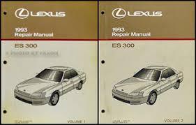 lexus is owners manual 1993 lexus es 300 wiring diagram manual original