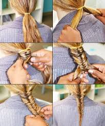 hair braiding styles step by step fishtail braid how to do a fishtail braid our easy step by