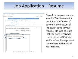 Job Application Resume Prior To Beginning Your Job Application Develop A Professional