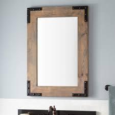 licious bathroom attractive frameless wall mirror ideas with led