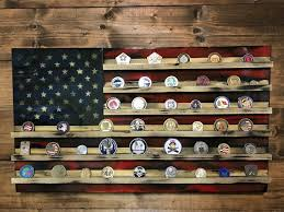 With Challenge 15 Best Challenge Coin Holders Handmade Wood Flags Images On