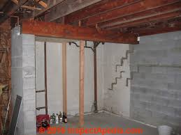 Bowing Basement Wall by How To Measure The Amount Of Leaning Bowing Or Bulging In A