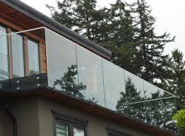 marques de canap駸 frameless glass deck decks decking exterior stairs