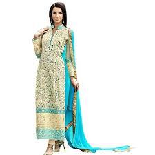 ethnic bollywood pakistani straight shalwar salwar kameez suit