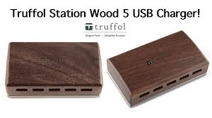 truffol station wood 5 usb charger youtube