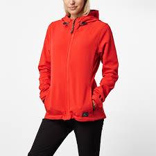 o neill solo softshell jacket women s winter coat in poppy red