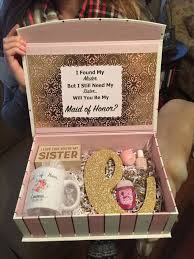 will you be my of honor gift bridesmaid of honor box bridesmaids http gelinshop