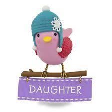 Mother Daughter Christmas Ornaments Hallmark Daughter Ornament Ebay