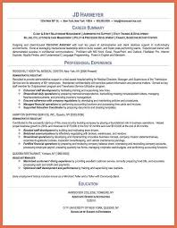 Jd Resume Administrative Assistant Resume Bio Example