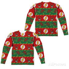 the flash dc comics sweater sublimation sleeve