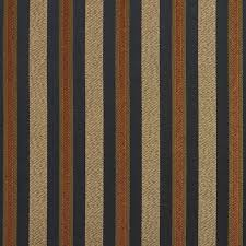 Upholstery Drapery Fabric Black Gold Green Orange Striped Damask Upholstery And Drapery
