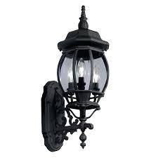 Outdoor Motion Sensor Light Home Depot - led outdoor wall lights lowes 800 contemporary light black motion