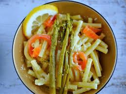 cuisiner asperges vertes fraiches pâtes saumon asperges marciatack fr